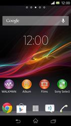 Sony C1905 Xperia M - MMS - probleem met ontvangen - Stap 1