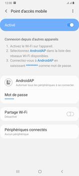 Samsung Galaxy A70 - WiFi - Comment activer un point d'accès WiFi - Étape 13