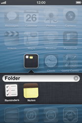Apple iPhone 3GS - Getting started - personalising your Start screen - Step 6