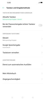 Oppo Find X2 - Startanleitung - So fügen Sie eine Tastatursprache hinzu - Schritt 6
