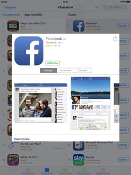 Apple iPad Air - iOS 8 - Applicazioni - Configurazione del negozio applicazioni - Fase 6