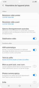 Samsung Galaxy S20 Ultra - Photos, vidéos, musique - Créer une vidéo - Étape 8