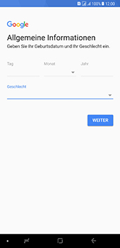 Samsung Galaxy A8 Plus (2018) - Apps - Konto anlegen und einrichten - 9 / 19