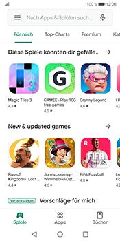 Huawei Mate 10 Pro - Android Pie - Apps - Einrichten des App Stores - Schritt 22