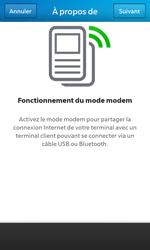 BlackBerry Z10 - Internet et connexion - Utiliser le mode modem par USB - Étape 6