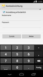 LG Google Nexus 5 - E-Mail - Konto einrichten - 0 / 0
