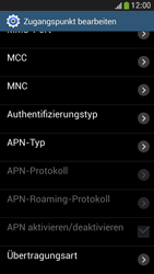 Samsung Galaxy S4 Mini LTE - MMS - Manuelle Konfiguration - 13 / 20