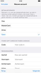 Apple iPhone 6 Plus (Model A1524) - Applicaties - Account aanmaken - Stap 19