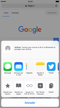 Apple iPhone 6s Plus iOS 10 - Internet - navigation sur Internet - Étape 5