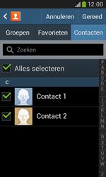 Samsung S7580 Galaxy Trend Plus - Contactgegevens overzetten - delen via Bluetooth - Stap 7