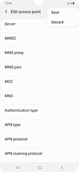 Samsung Galaxy A50 - MMS - Manual configuration - Step 15