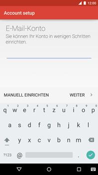 Motorola Google Nexus 6 - E-Mail - Konto einrichten - Schritt 11
