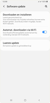 Samsung galaxy-a7-dual-sim-sm-a750fn-android-pie - Software updaten - Update installeren - Stap 5