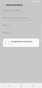 Samsung Galaxy S8 Plus - Android Oreo - Réseau - Sélection manuelle du réseau - Étape 10