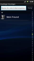 Sony Ericsson Xperia X10 - MMS - Erstellen und senden - 8 / 19