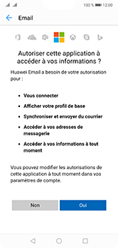 Huawei P20 Lite - E-mail - 032c. Email wizard - Outlook - Étape 9