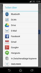 Sony Xperia Z3 Compact - Internet und Datenroaming - Verwenden des Internets - Schritt 21