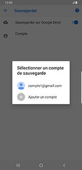 Samsung Galaxy S9 Plus - Android Pie - Données - créer une sauvegarde avec votre compte - Étape 9