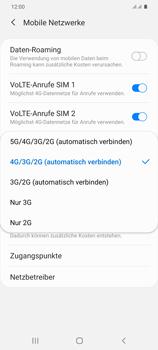 Samsung Galaxy S20 Plus 5G - Netzwerk - So aktivieren Sie eine 5G-Verbindung - Schritt 7