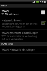 HTC Explorer - WLAN - Manuelle Konfiguration - 6 / 10
