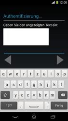 Sony Xperia Z1 - Apps - Konto anlegen und einrichten - Schritt 19
