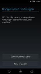 Sony Xperia T3 - Apps - Konto anlegen und einrichten - 4 / 22
