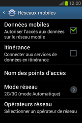 Samsung S6810P Galaxy Fame - Internet - Configuration manuelle - Étape 6