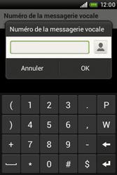 HTC A320e Desire C - Messagerie vocale - configuration manuelle - Étape 8