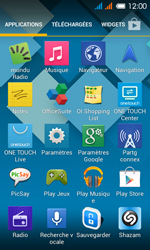 Alcatel One Touch Pop C3 - Applications - installation d