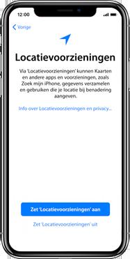 Apple iphone-xs-max-met-ios-13-model-a1921 - Instellingen aanpassen - Activeer het toestel en herstel jouw iCloud-data - Stap 23