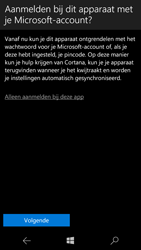 Microsoft Lumia 550 - apps - account instellen - stap 17