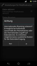 Sony Xperia T - Ausland - Im Ausland surfen – Datenroaming - 0 / 0
