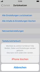 Apple iPhone SE - iOS 14 - Gerät - Zurücksetzen auf die Werkseinstellungen - Schritt 7