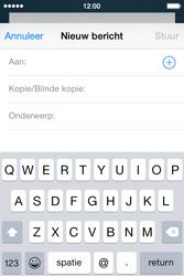 Apple iPhone 4S (iOS 8) - e-mail - hoe te versturen - stap 4