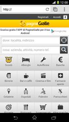 Sony Xperia Z1 - Internet e roaming dati - Uso di Internet - Fase 19