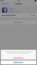 Apple iPhone 6 Plus iOS 8 - Apps - Eine App deinstallieren - Schritt 8