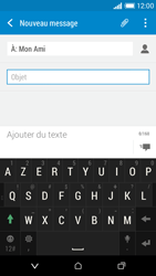 HTC Desire 610 - Contact, Appels, SMS/MMS - Envoyer un MMS - Étape 11