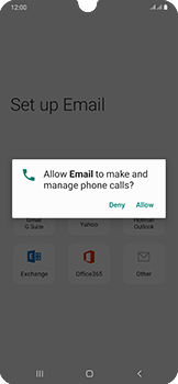 Samsung Galaxy A50 - E-mail - 032c. Email wizard - Outlook - Step 10