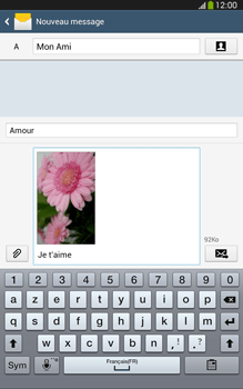 Samsung Galaxy Tab 3 8 4G - Contact, Appels, SMS/MMS - Envoyer un MMS - Étape 20