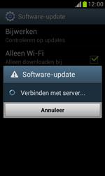 Samsung S7560 Galaxy Trend - Software updaten - Update installeren - Stap 8