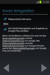 Samsung Galaxy Fame Lite - Apps - Einrichten des App Stores - Schritt 20