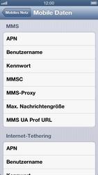 Apple iPhone 5 - MMS - manuelle Konfiguration - Schritt 8