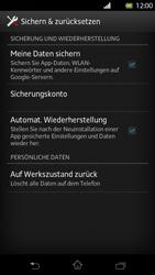 Sony Xperia T - Fehlerbehebung - Handy zurücksetzen - 7 / 10