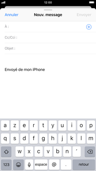Apple iPhone 8 Plus - iOS 12 - E-mail - envoyer un e-mail - Étape 3