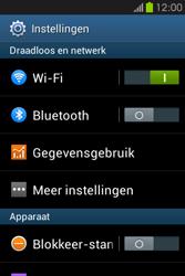 Samsung S6810P Galaxy Fame - bluetooth - aanzetten - stap 4