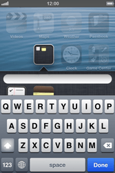 Apple iPhone 4 - Getting started - Personalising your Start screen - Step 5