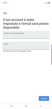 Samsung Galaxy Note 10 - E-mail - configurazione manuale - Fase 21