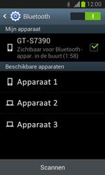 Samsung S7390 Galaxy Trend Lite - bluetooth - aanzetten - stap 7