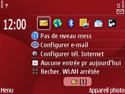 Nokia E63 - MMS - Configuration automatique - Étape 3