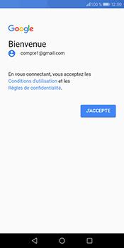 Huawei P Smart - E-mails - Ajouter ou modifier votre compte Gmail - Étape 11
